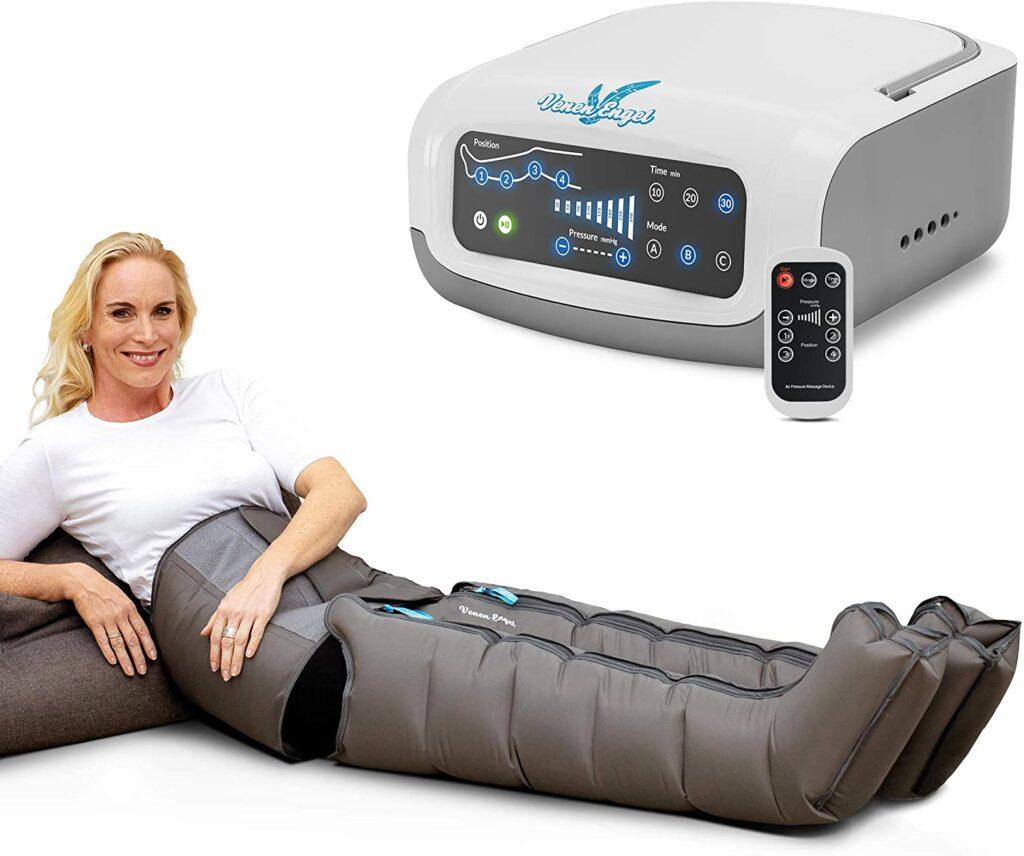 Venen Engel 4 Premium aparato de masajes con botas y cinta abdominal